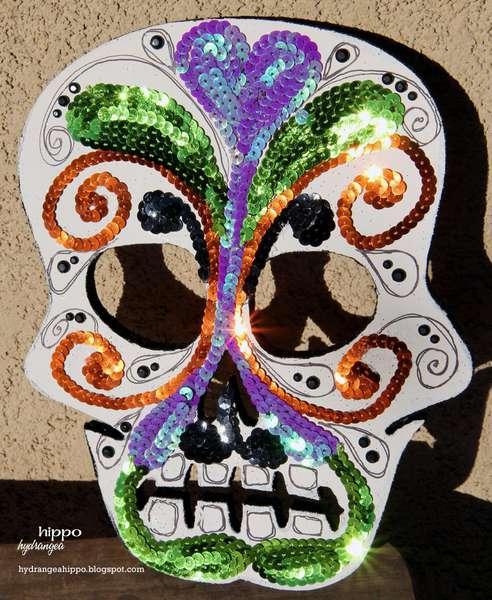Altered Skull - Dia De Los Muertos *SIWL Design Team*