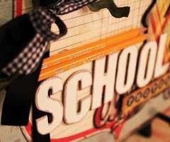 School Days 12x12 Album * Clear Scraps DT *