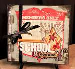 School Days 12x12 Album * Clear Scraps DT *