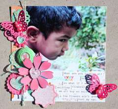 Sniffing Flowers *Epiphany Crafts*