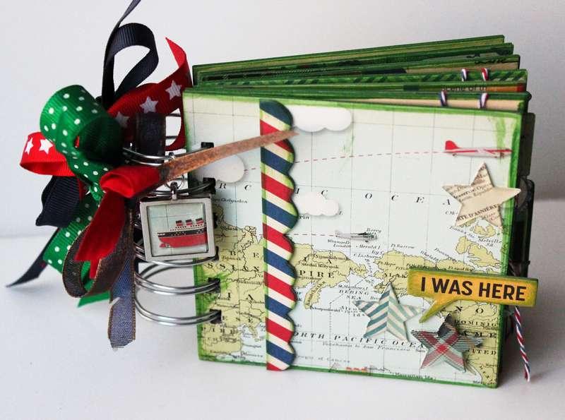 Travel Mini * Epiphany Crafts DT*