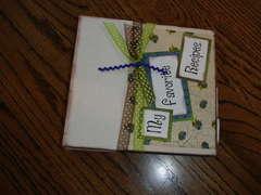 BoBunny Bleberry Recipe Book