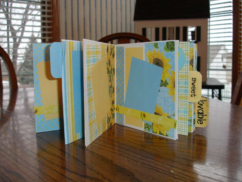 Inside of BoBunny Book