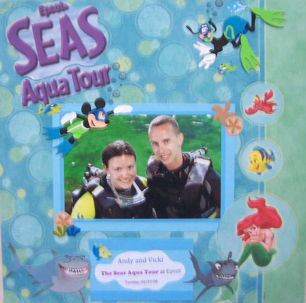 Epcot's Seas Aqua Tour