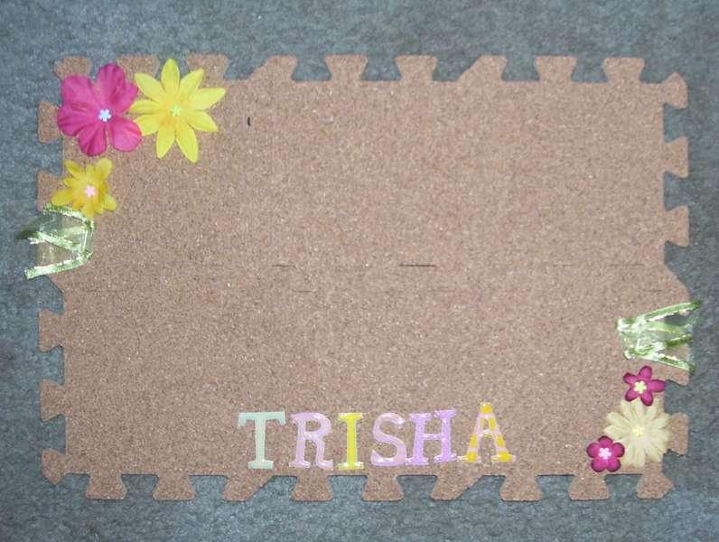 Trisha's corkboard