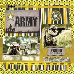 Army: Proud to Serve