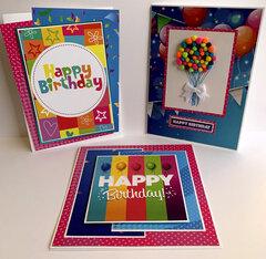 Birthday Bash Cards