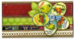 Reminisce Labels Classique Card