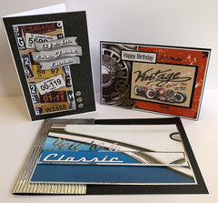 Classic Cars Cards