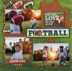 For the Love the of Game: Football