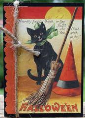 Reminisce Hallowe'en Card