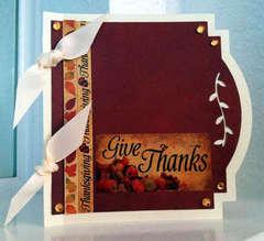 Reminisce Autumn Harvest Card