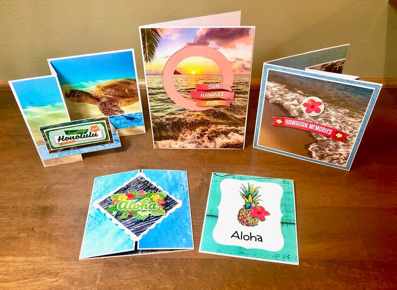 Hawaii Cards