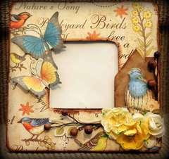 Altered Frame *Creative Imaginations*