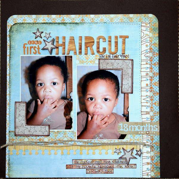 Xan's First Haircut