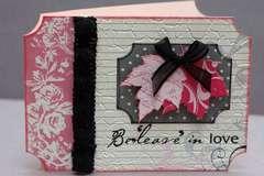 Be'Leave' In love Card *Cheery lynn Designs*