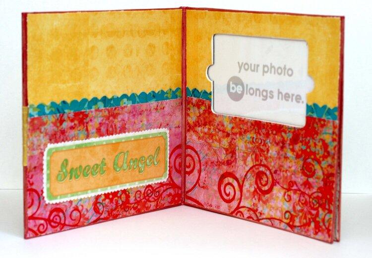 Gift Card Holder (inside) *Creative Imaginations*