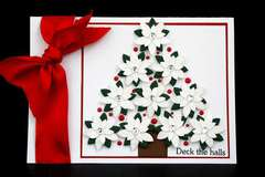 Deck The Halls Card *Petaloo*