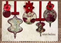 Epoxy Ornament Card