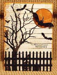 Halloween Wishes Card *Cheery Lynn Designs*