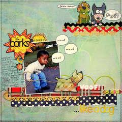 He Barks...Like A Dog
