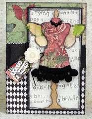 Hello Beautiful Card *Creative Imaginations*