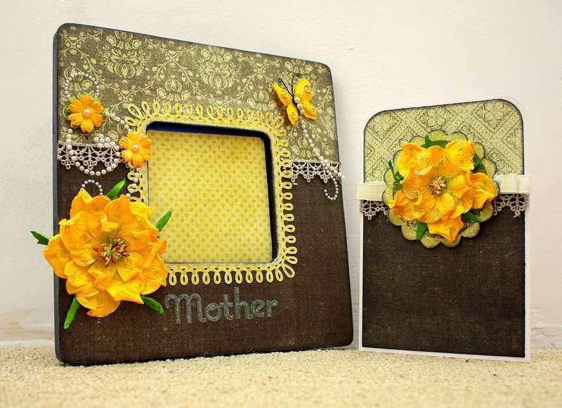 Mother Frame/Card Set *Petaloo*