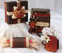 Christmas Gift Boxes *Petaloo*
