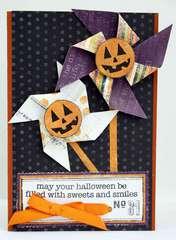 Pumpkin Pinwheels Card