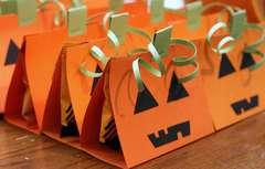 Pumpkin Treat Holders