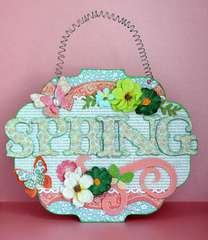 Spring Wall Hanging *Petaloo*
