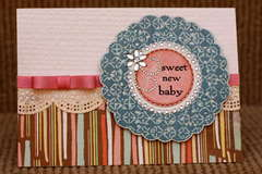 Sweet New Baby Card*Cheery Lynn Designs*