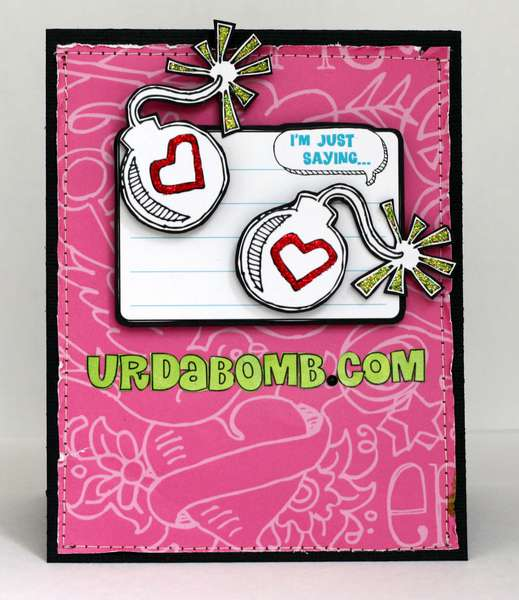 URDABOMB.COM Card *Creative Imaginations*