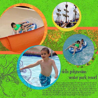 dells polynesian water park resort