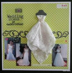 Wedding Dress in Construction