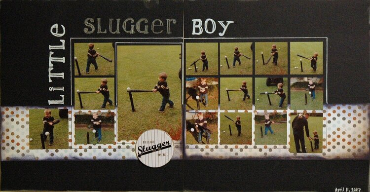 Little Slugger Boy