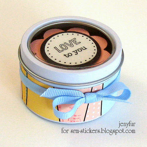 Mini Tin - With Sticker Sentiments!