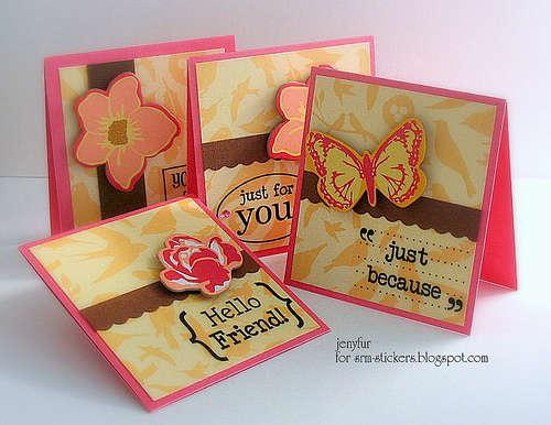 Mini Card Set of 4