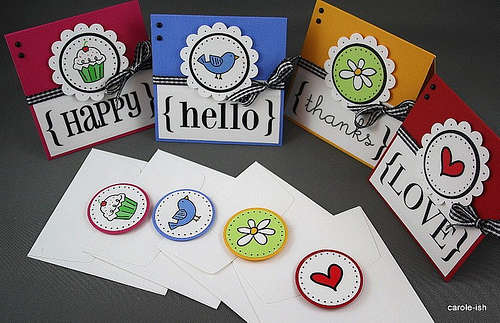 Mini Cards - Set of 4 - View #2