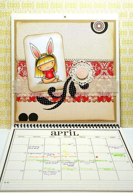 8 x 8 Keepsake Calendar