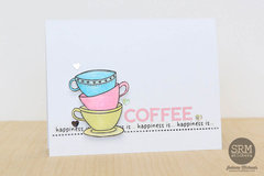 Happiness Is Coffee Card
