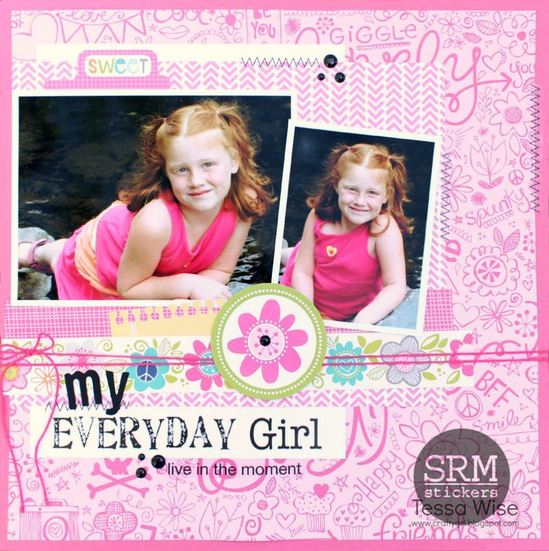 My Everday Girl Layout
