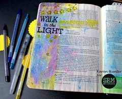 Walk in the Light Bible Journaling