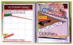 October Planner Pages