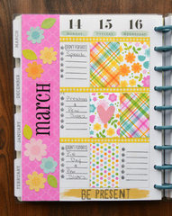 March Planner Page by Christine Meyer