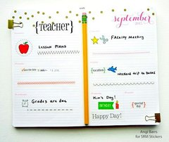 Planner Pages September