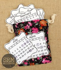 Mini Planner Calendar in a Bag! by Tessa Wise