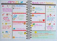 April Planner Pages