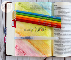 I am with you always Bible Journaling