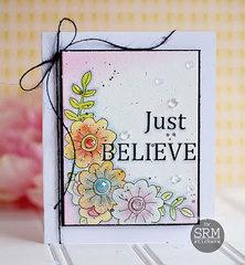 Just Believe card